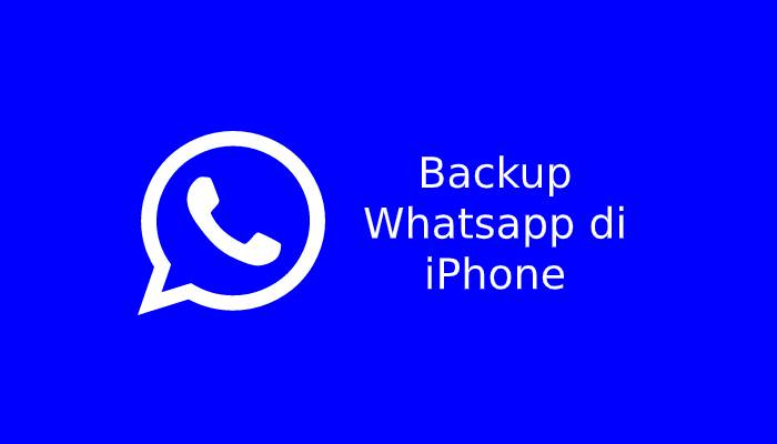 Photo of Cara Backup Whatsapp di Iphone