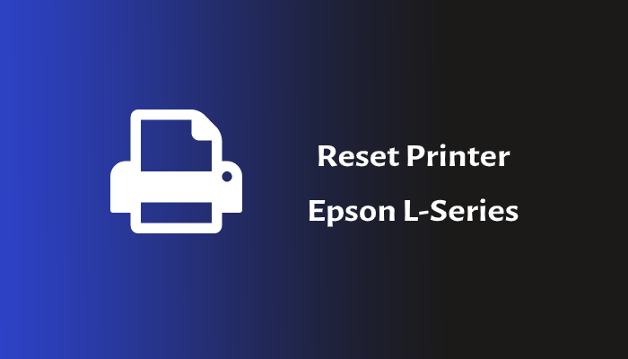 Photo of Cara Reset Printer Epson Blink