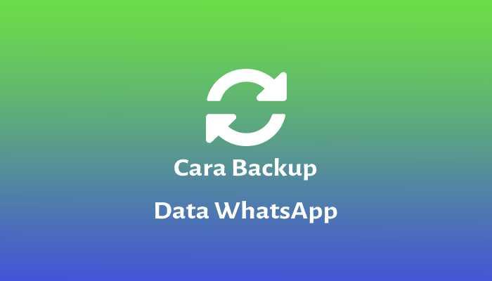 backup data whatsapp