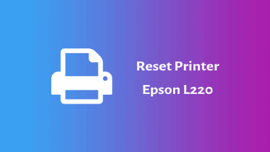 Photo of Cara Reset Printer Epson L220