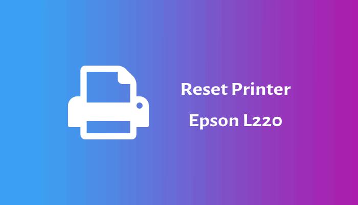 reset epson l220