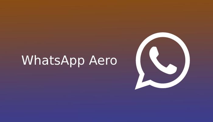 aplikasi whatsapp aero
